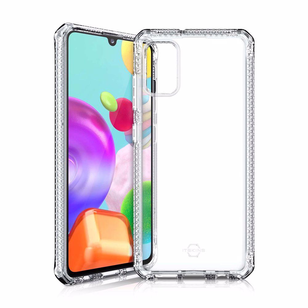 Itskins telefoonhoesje Spectrum-Samsung Galaxy A41 (Transparant)