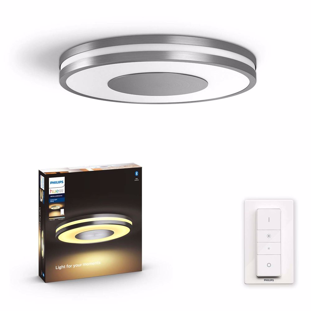 Philips hue BEING PLAFONDLAMP - WARM TOT KOELWIT LICHT (Alu)