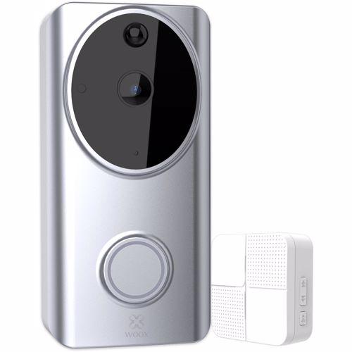 Woox slimmem video deurbel R4957 + Chime binnenbel 8944870149570