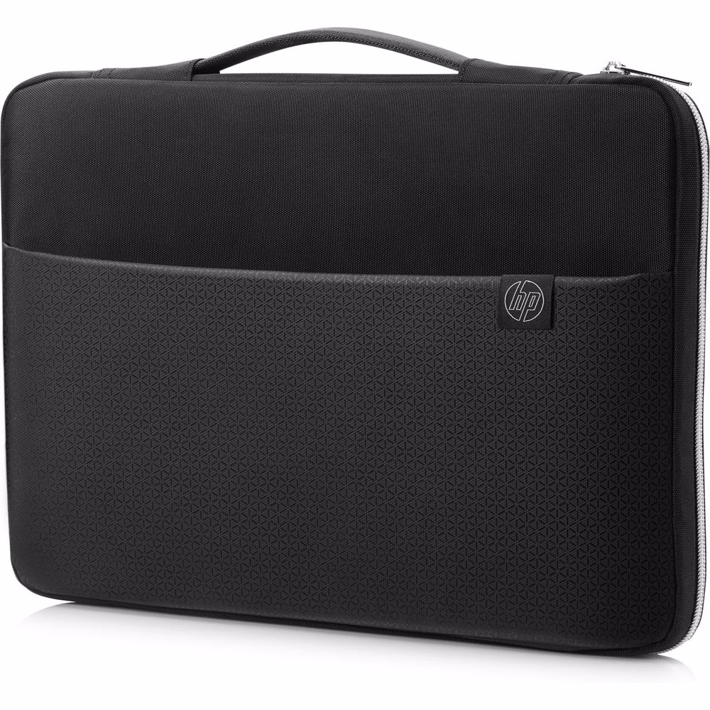 HP laptop sleeve 15.6 inch (Zwart/Zilver)