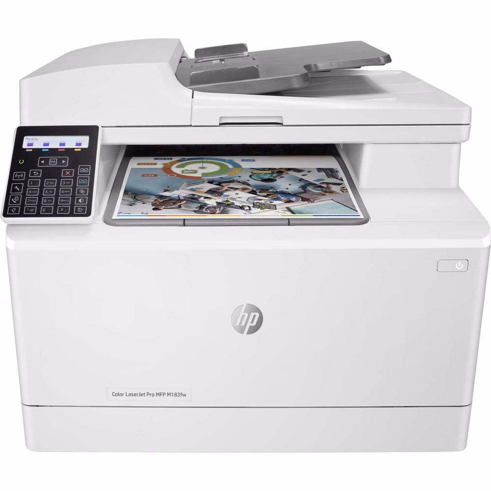 HP all-in-one printer COLOR LASERJET PRO MFP M183FW