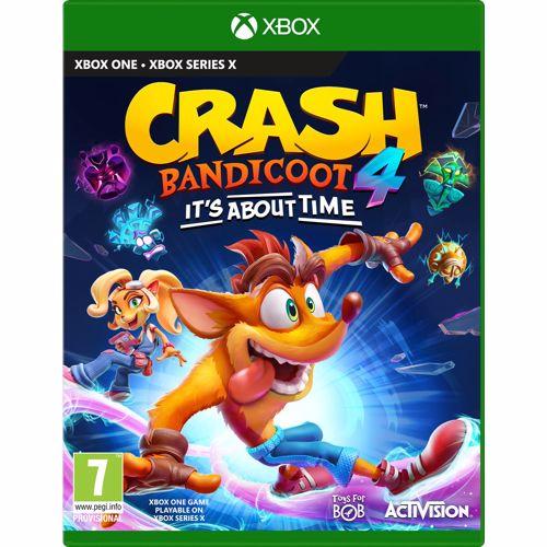 Crash Bandicoot 4 It's about time, (X-Box One). XBOXONE