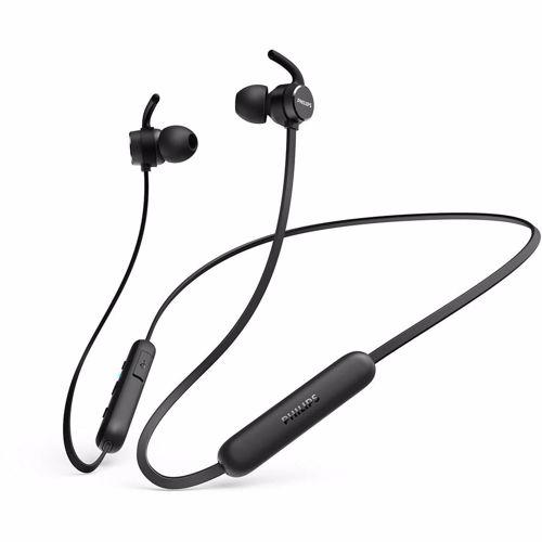 Philips draadloze hoofdtelefoon TAE1205 (Zwart)
