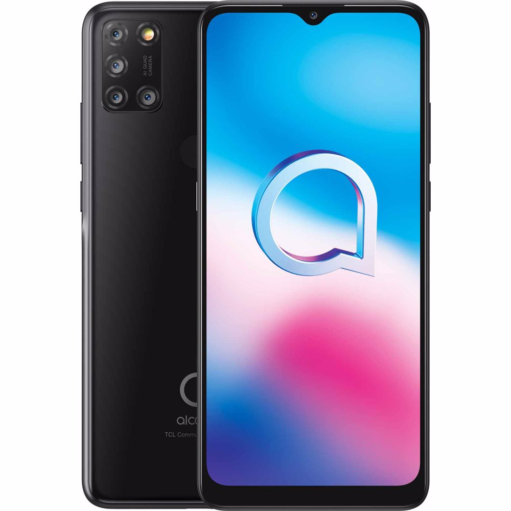 Alcatel smartphone 3X (2020) 64GB (Zwart)