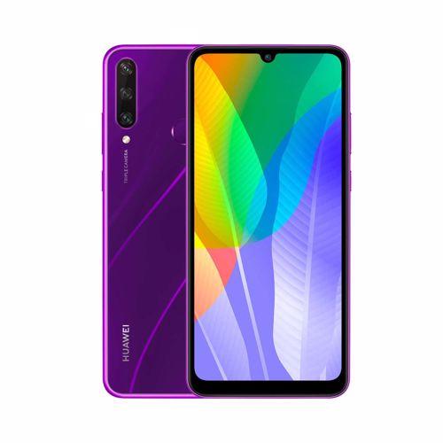 Huawei smartphone Y6p (Paars)