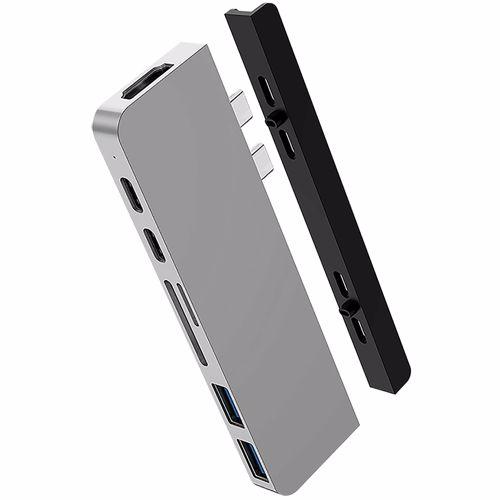 Hyper Duo Hub USB-C Grijs