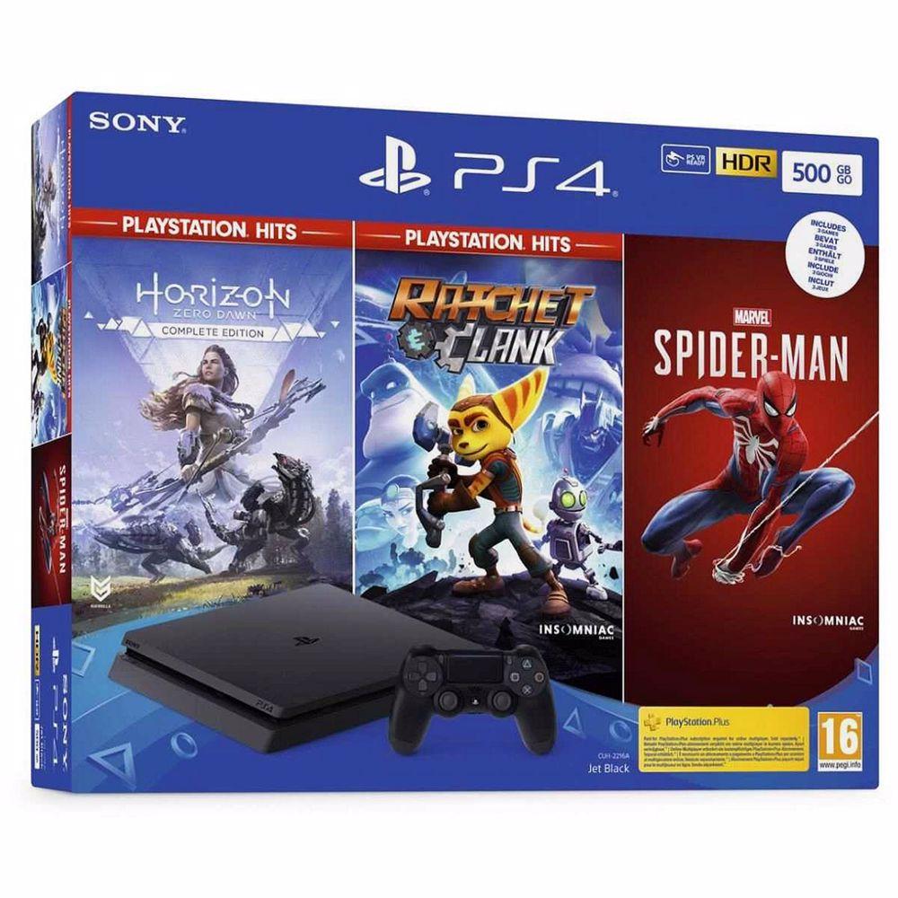 PlayStation 4 Slim 500GB + Hits Bundel