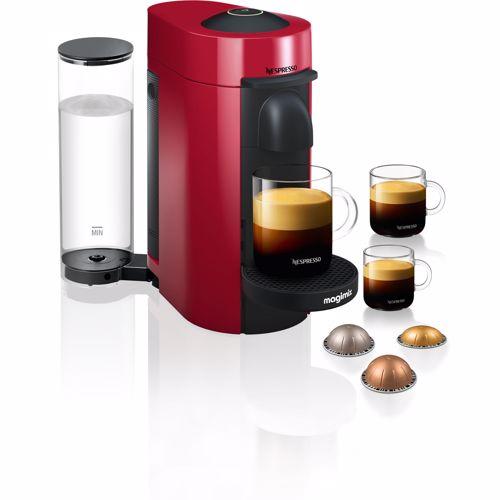 Nespresso Magimix koffieapparaat VertuoPlus (Rood)