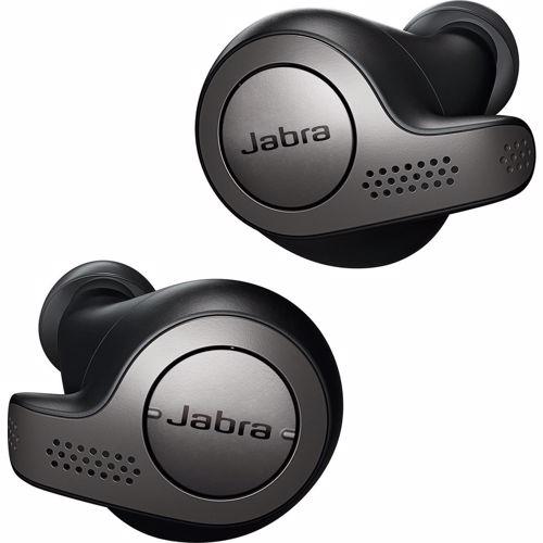 Foto van Jabra draadloze hoofdtelefoon Elite 65T (Titanium/Zwart)