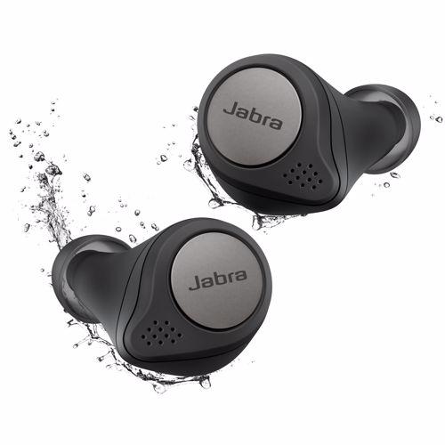 Foto van Jabra draadloze hoofdtelefoon Elite Active 75T (Titanium/Zwart)