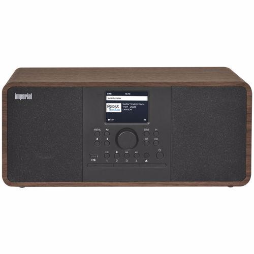 Imperial dab radio Dabman i205CD hout