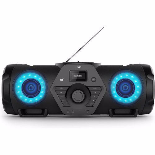 Foto van JVC DAB+ portable speaker / BoomBlaster RV-NB300DAB-BP