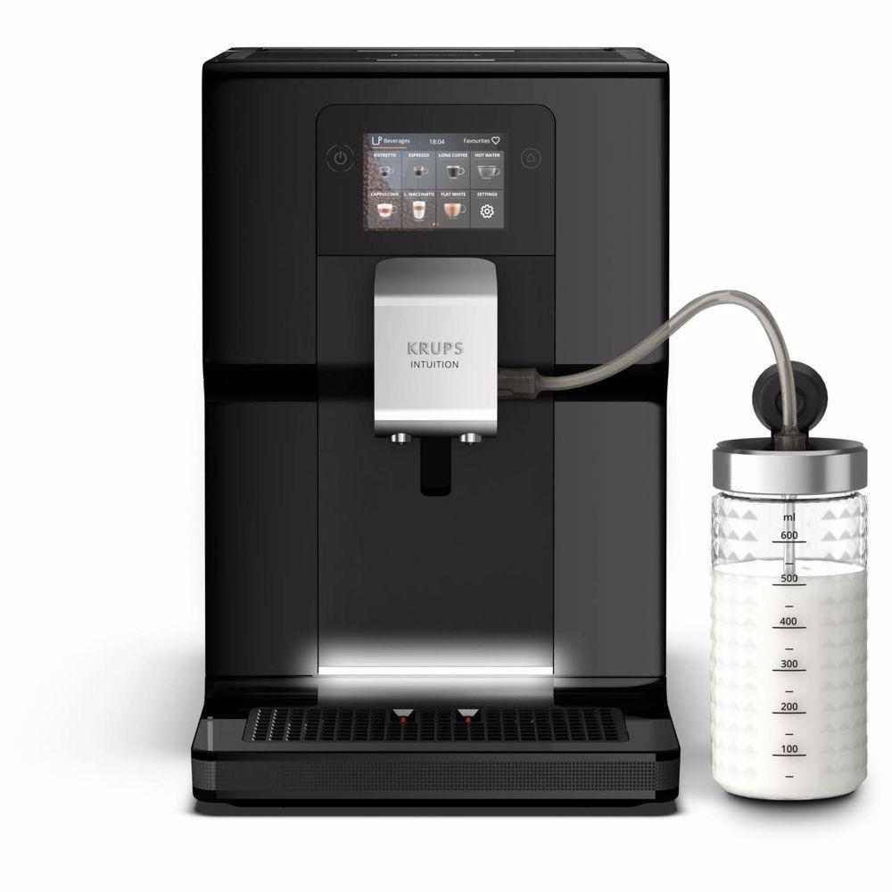 Krups espresso apparaat  Intuition Preference EA8738 + Melkkan