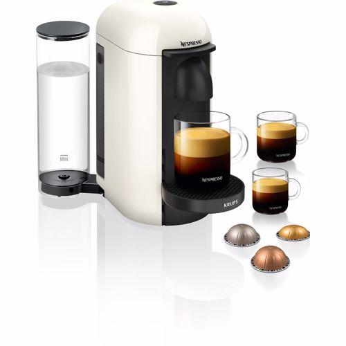 Nespresso Krups koffieapparaat VertuoPlus Rond (Wit)