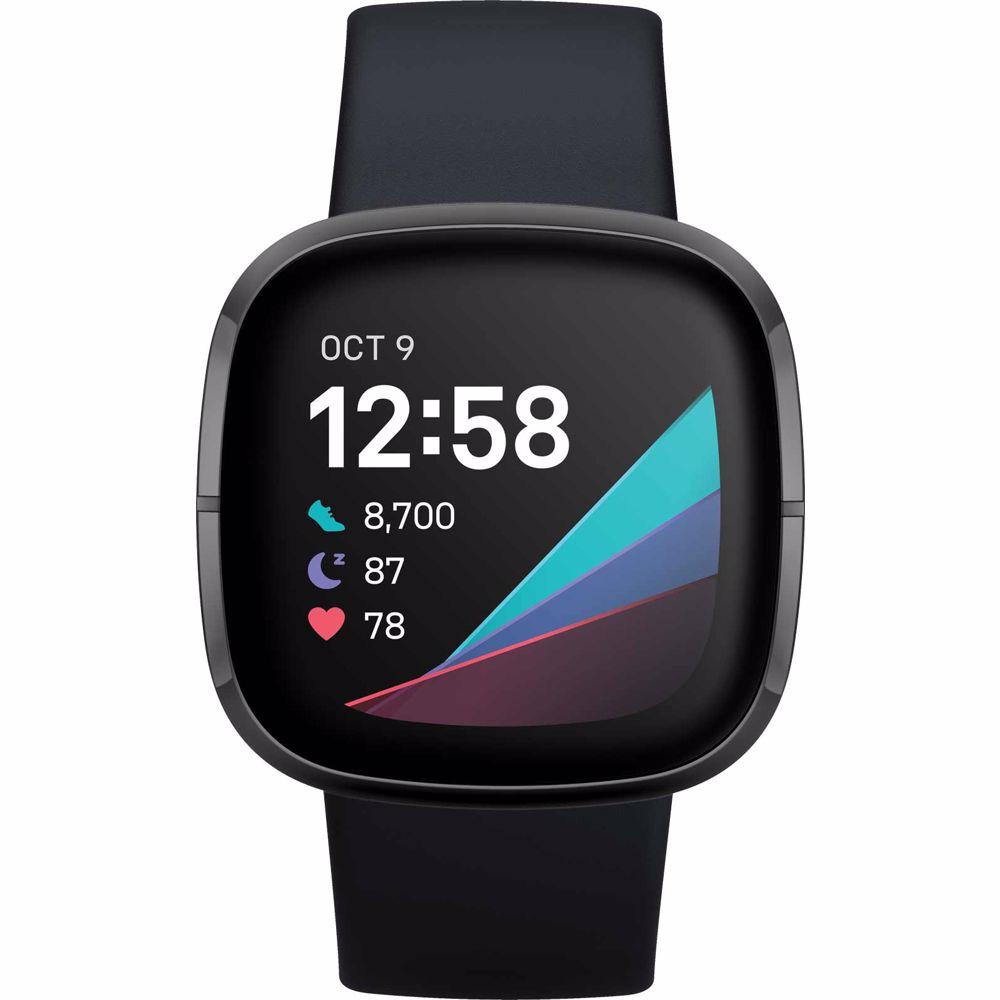Fitbit smartwatch Sense (Zwart)