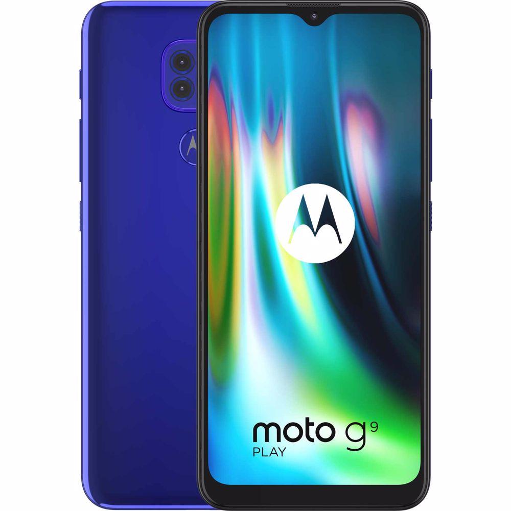 Motorola smartphone G9 Play (Blauw)