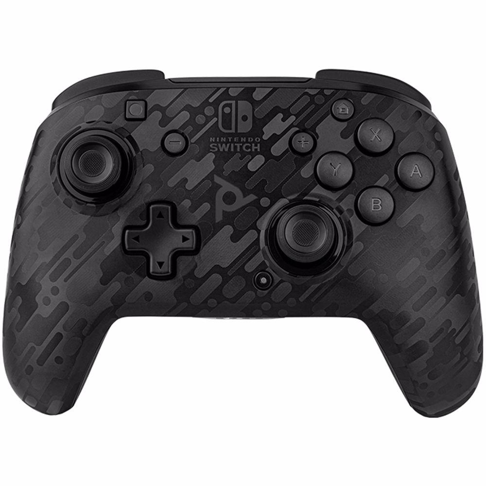 PDP draadloze gaming controller Faceoff Nintendo Switch (Zwart)