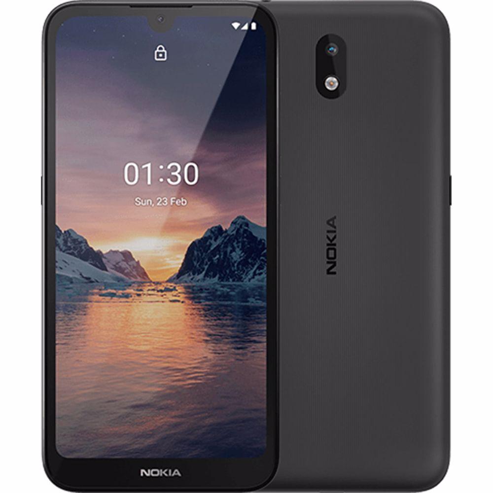 Nokia smartphone 1.3 (Grijs) + Lyca simkaart