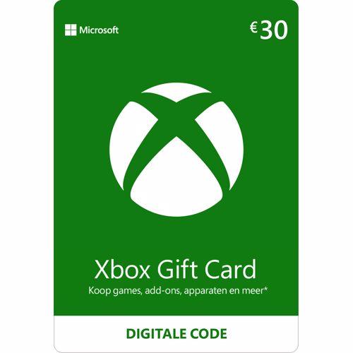 Microsoft GC-Xbox LIVE EMEA PK Lic AGENCY Online ESD 30 EURO (download versie) (K4W-02562)