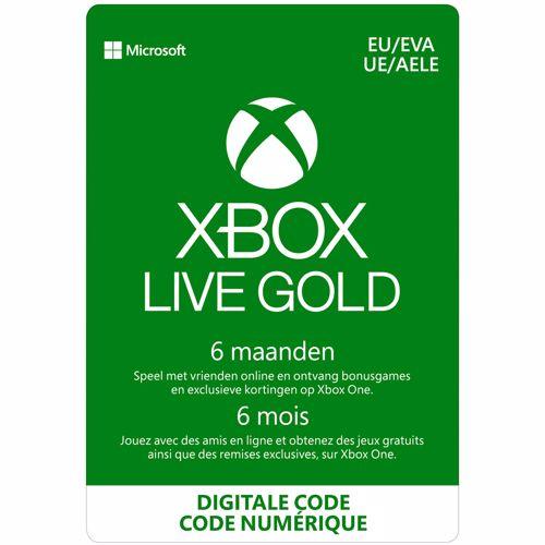 Xbox Live Gold 6 Maanden: 1 apparaat direct download