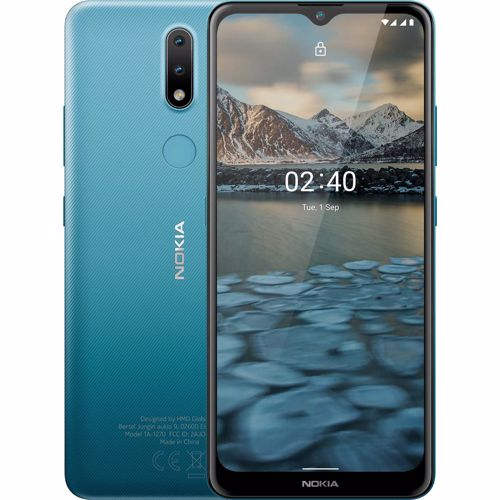 Nokia smartphone 2.4 (Blauw)