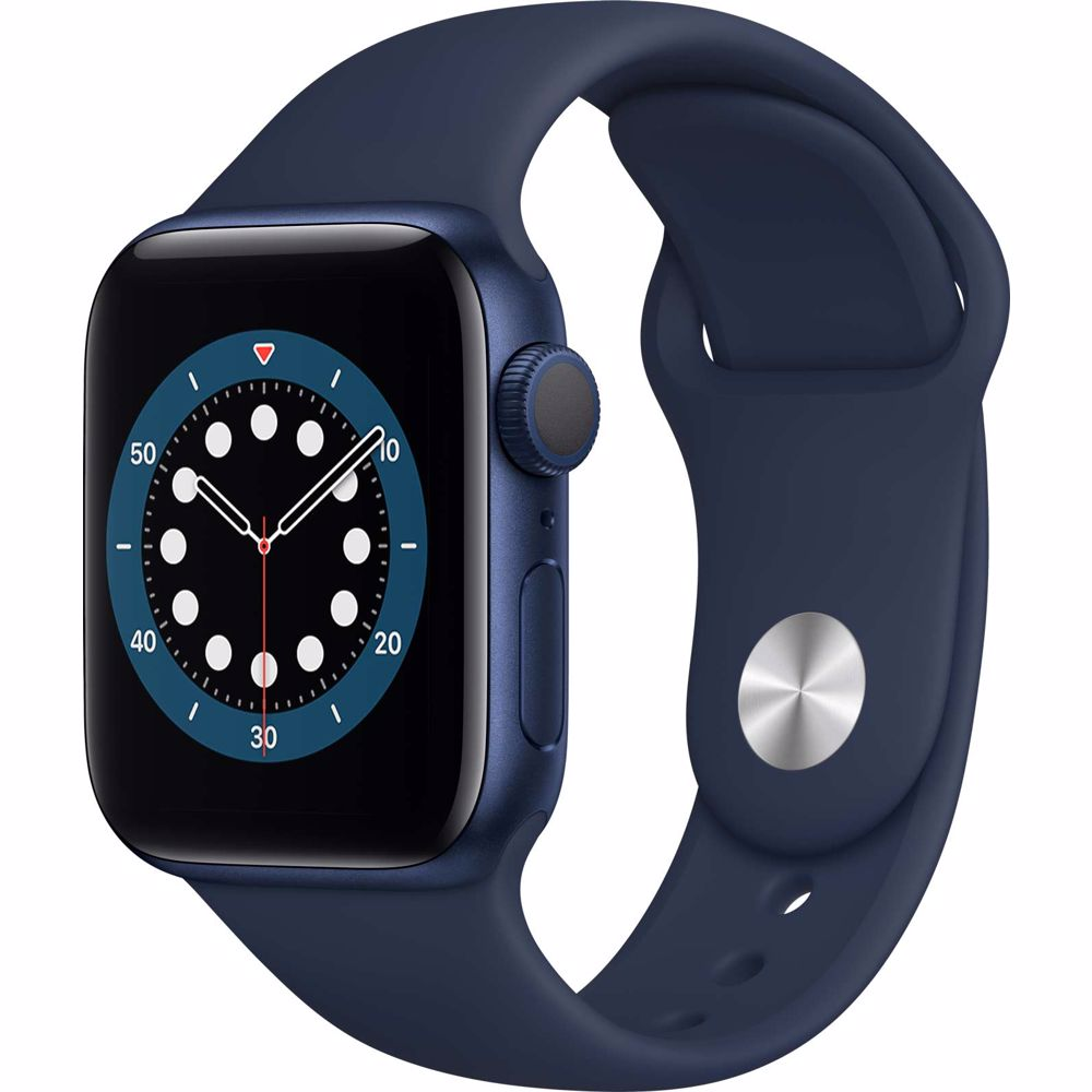 Apple Watch Series 6 GPS 40mm (Blauw) Sportband
