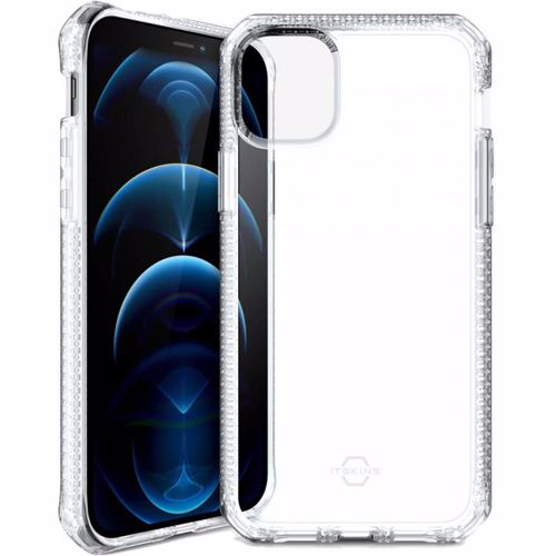 ITSkins telefoonhoesje iPhone 12/ 12 Pro Spectrum (Transparant) 4894465740528