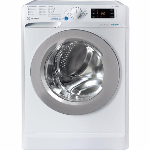 Indesit wasmachine BWENL 81484X WS N