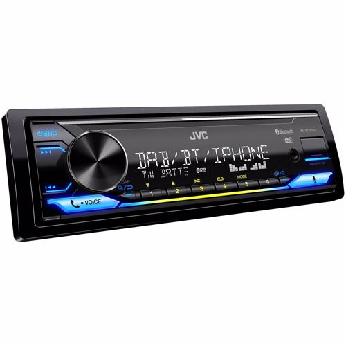 JVC DAB autoradio KDX472DBT (Zwart) 4975769462078