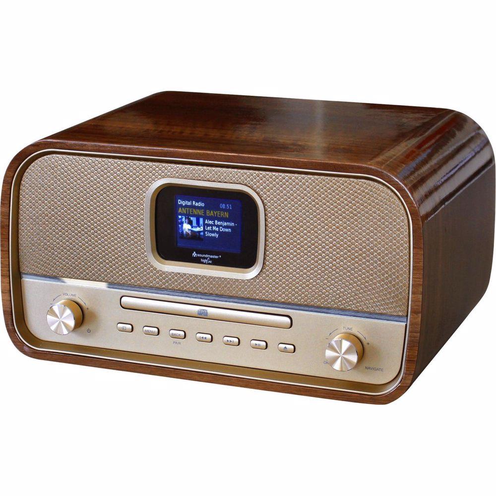 Soundmaster DAB+ FM radio met Bluetooth NMCDAB990 (Goud)