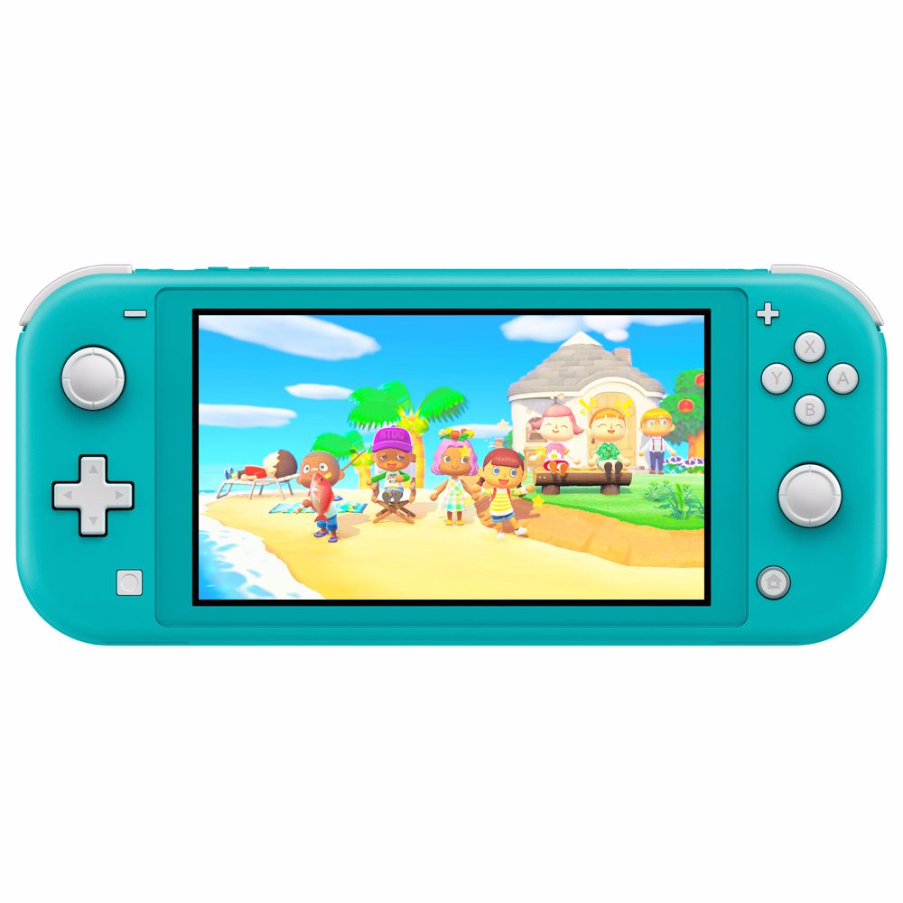 Nintendo Switch Lite (Turquoise) Animal Crossing + Gratis NSO