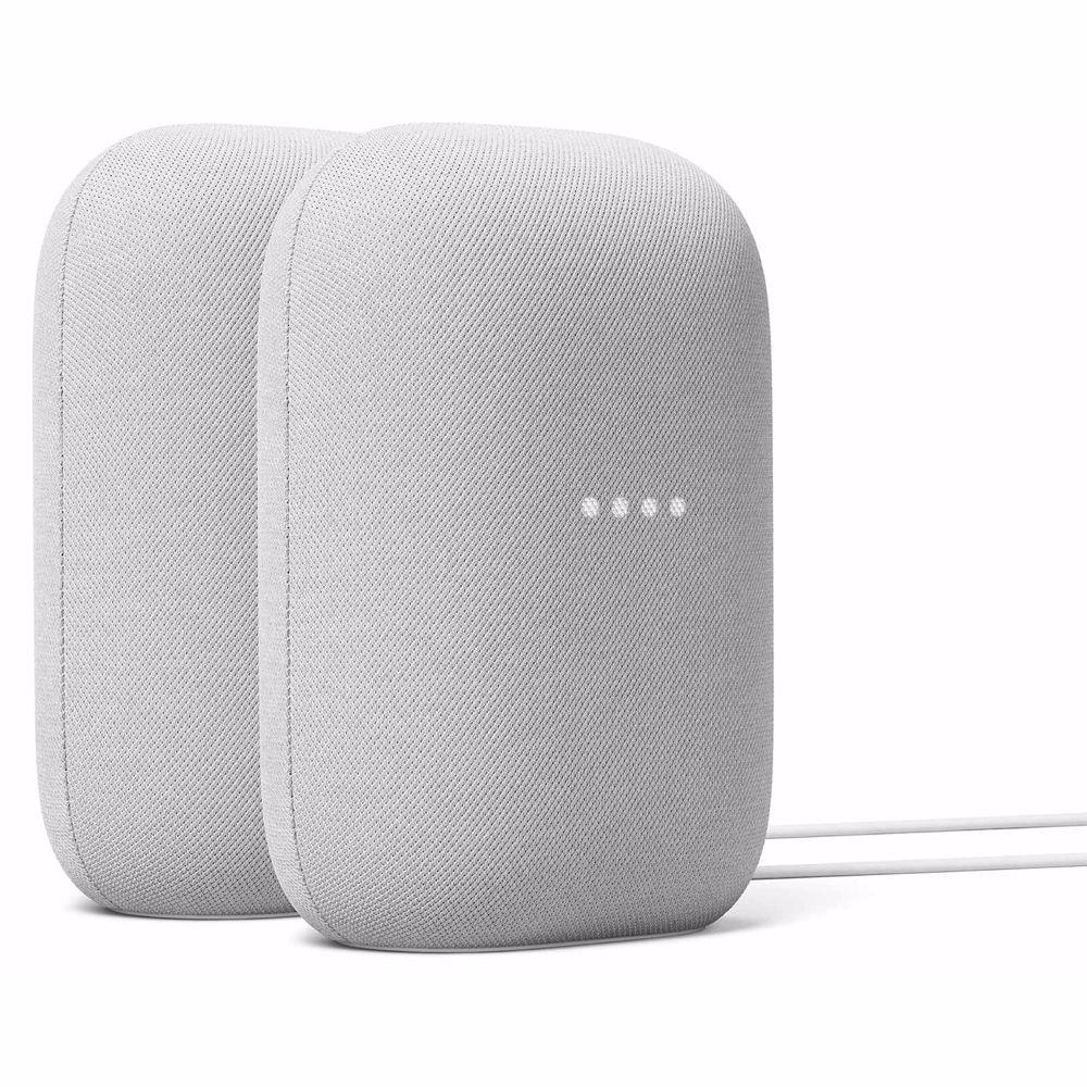 Google Nest Audio duo pack (Licht Grijs)