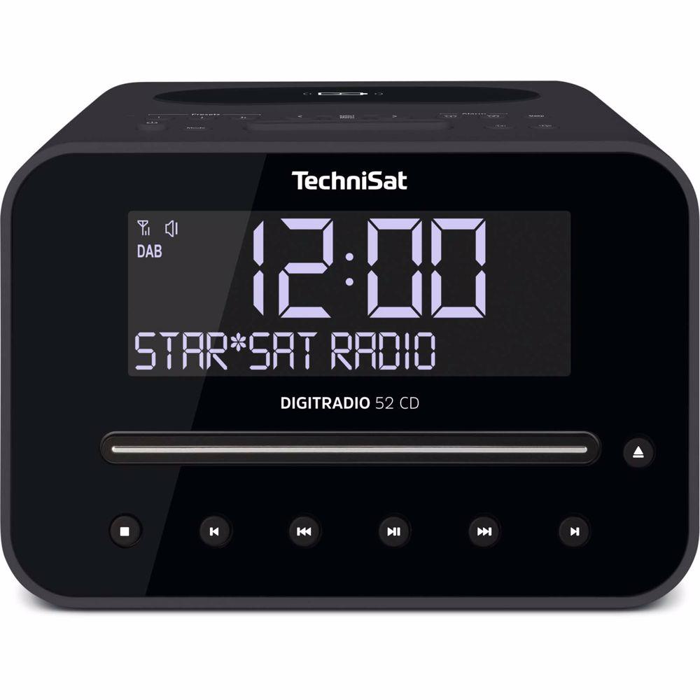 Technisat wekkerradio Digitradio 52 CD (Zwart)
