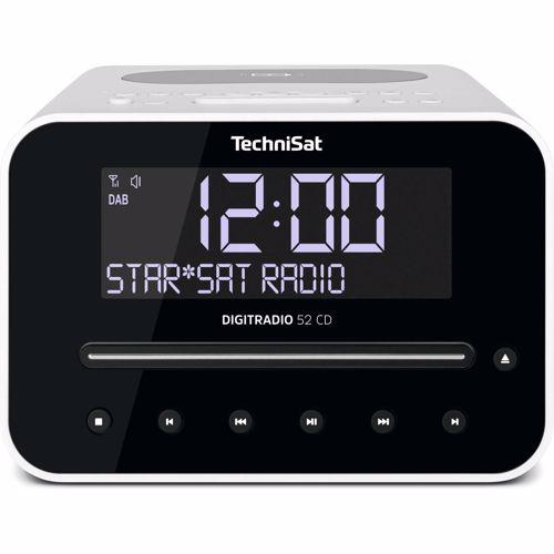 Foto van Technisat wekkerradio Digitradio 52 CD (Wit)