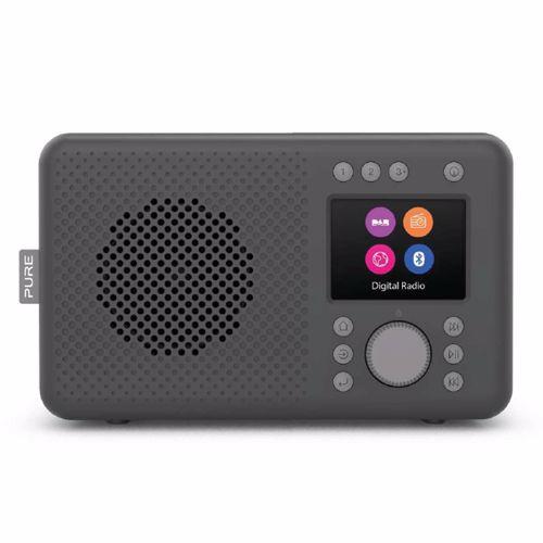 Pure DAB+ radio Elan (Zwart)