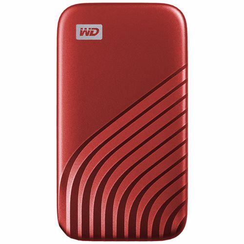 Western Digital externe SSD 2 TB My Passport (Rood) 619659184599