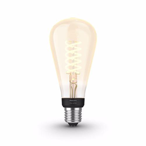 Philips Hue White Filament LEDlamp Edison ST72