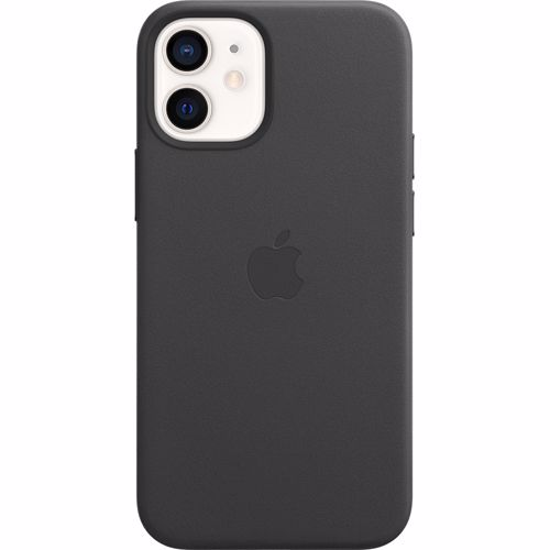 Apple iPhone12 mini Leather Case with MagSafe Black