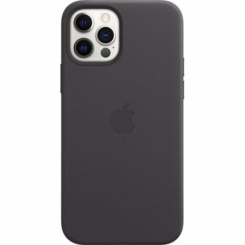 Apple iPhone 12-12 Pro Leather Case MagSafe Black