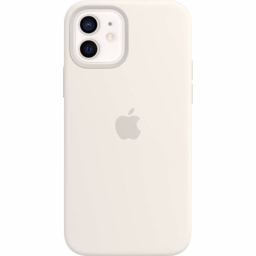 iPhone 12-12 Pro Apple Siliconen Hoesje met MagSafe MHL53ZM-A Wit