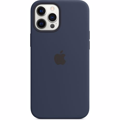 iPhone 12 Pro Max Apple Siliconen Hoesje met MagSafe MHLD3ZM-A Donkermarineblauw