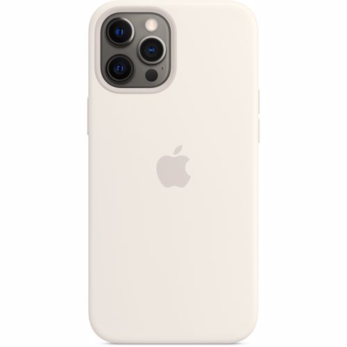 iPhone 12 Pro Max Apple Siliconen Hoesje met MagSafe MHLE3ZM-A Wit