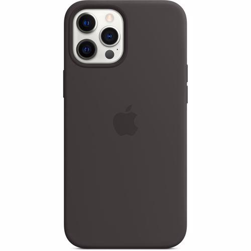iPhone 12 Pro Max Apple Siliconen Hoesje met MagSafe MHLG3ZM-A Zwart