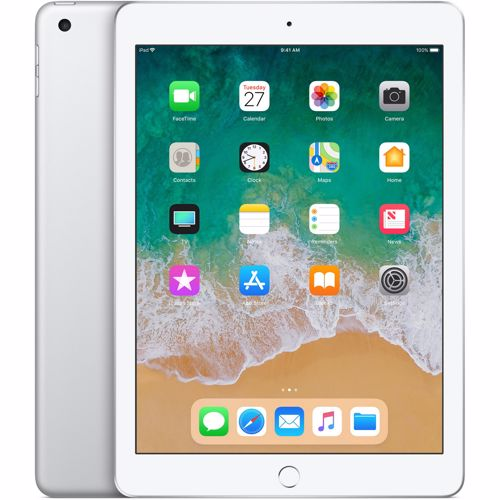 Renewd Apple iPad 6e generatie Wi-Fi 128GB (Zilver) Refurbished