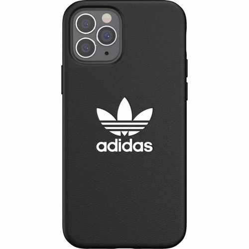 Adidas telefoonhoesje iPhone 12/12 Pro TPU (Zwart) 8718846083447