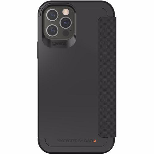 GEAR4 telefoonhoesje Wembley Flip iPhone 12/12 Pro (Zwart) 0840056129207