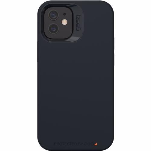 GEAR4 telefoonhoesje Rio Snap iPhone 12 mini (Zwart) 0840056138155