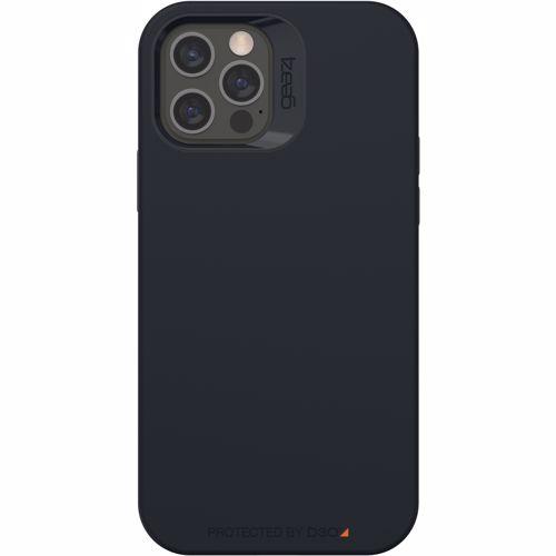 GEAR4 telefoonhoesje Rio Snap iPhone 12/12 Pro (Zwart) 0840056138162