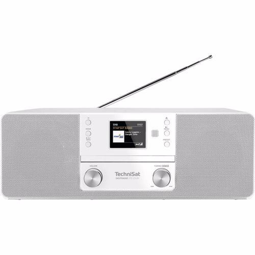 Technisat DAB radio DigitRadio 370 CD BT (Wit)
