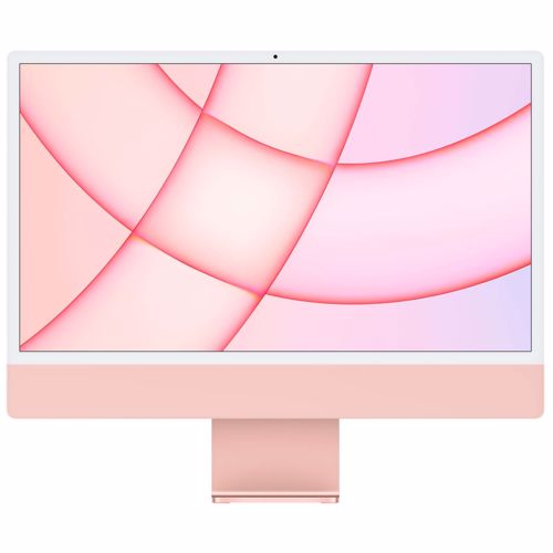 """Apple iMac Retina 4.5K 24"""" (2021) 8GB/512GB 4-port (Roze) 194252126486"""